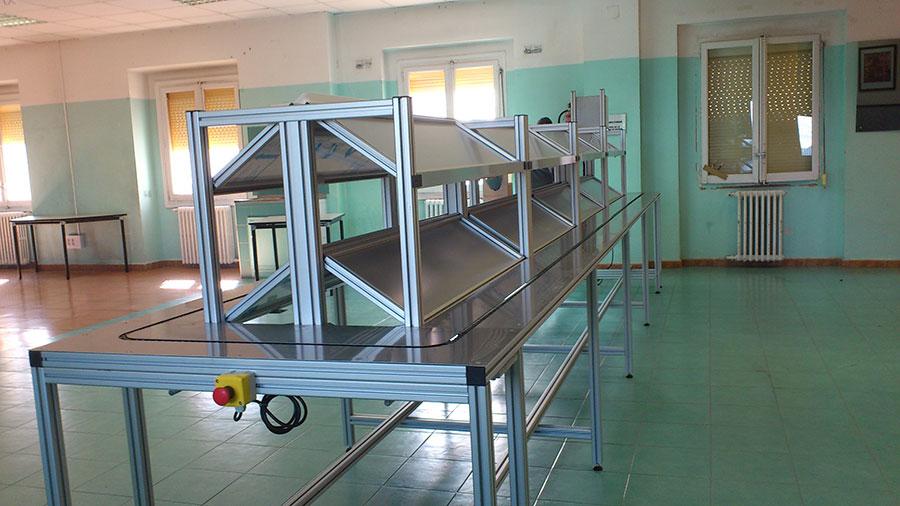 Perfil de aluminio estructural kayma sistemas s l protecciones industriales - Perfiles de aluminio para muebles ...