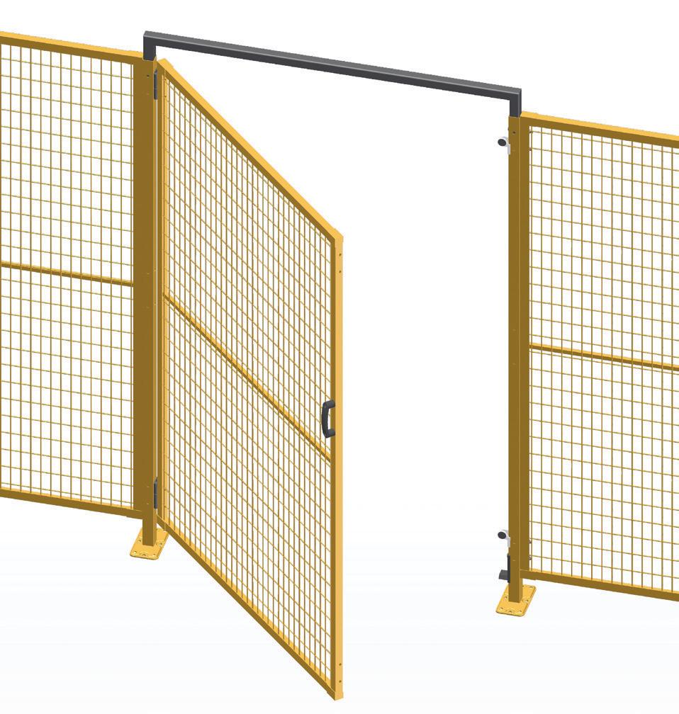 Puertas para cerramientos de seguridad kayma sistemas s - Puertas para cerramientos ...