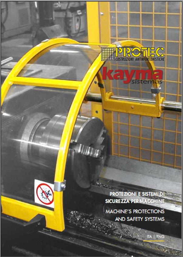 portada catalogo protec prot maquinaria